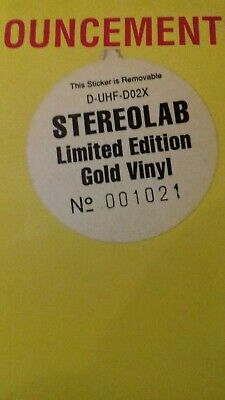 £125 • Buy Stereolab Rare Gold Vinyl LP 'Transient Random Noise Bursts With Announcements'
