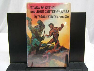 $9.99 • Buy Llana Of Gathol & John Carter Of Mars - Edgar R. Burroughs - BCE HB W/ DJ