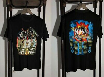 KISS T-Shirt 2019 End Of The Road Tour Clothing Unisex S To 2XL • 25$