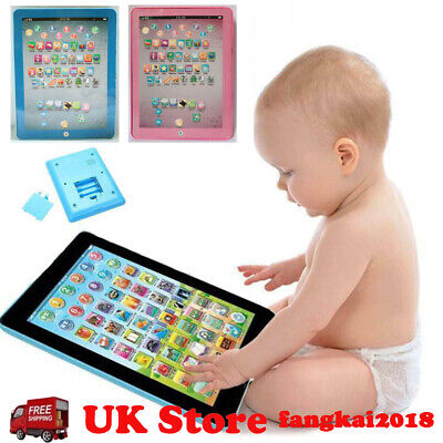 £6.99 • Buy Baby Tablet Educational Toys Girls Toy For Kids Toddler Learning English UK
