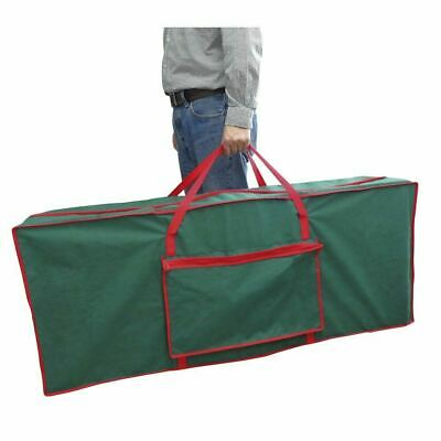 Large Xmas Tree Storage Bag For Christmas Tree Decoration Zip Up Bag, 125cm • 12.99£