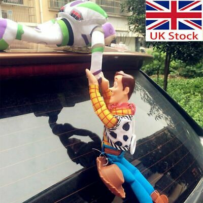 £13.58 • Buy Funny 3D Toy Story 4 Sherif Woody And Buzz Car Doll Outside 2019 Car Hanging Toy