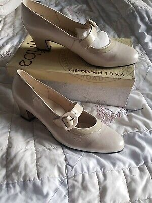 Equity Court Shoes Size 6 12  E Fitting Cream Brand New Never Worn • 23.99£