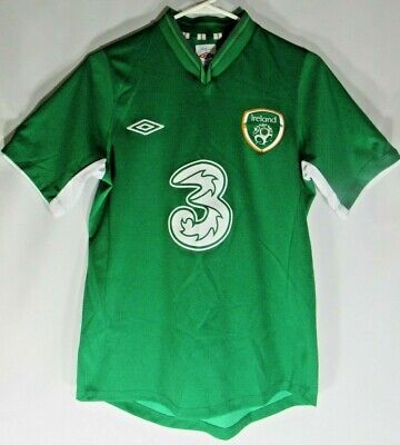 $19.97 • Buy Umbro Ireland Soccer Football Jersey Size 36 Embroidered Logo Eire Cool Green #3