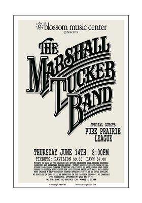 $15 • Buy Marshall Tucker Band 1979 Cleveland Concert Poster