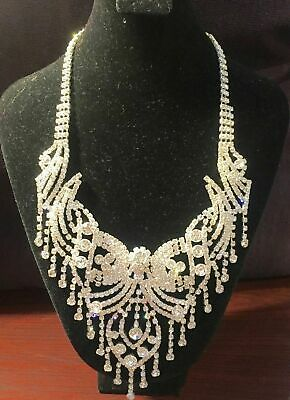 $29.99 • Buy Indian Bollywood Style Fashion Gold Plated Bridal Jewelry Necklace Set