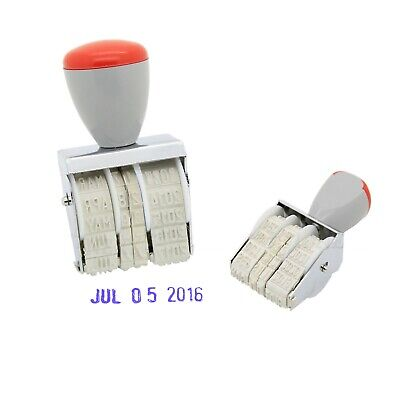£2.49 • Buy Manual Rubber Date Stamp Stamper School Home Office Work 2019 To 2029