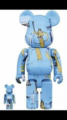 $298.99 • Buy BE@RBRICK JEAN-MICHEL Exhibition 2019 Made In Japan Limited BASQUIAT Basquiat