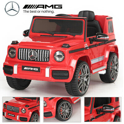 Licensed 12v Ride On Mercedes Benz G63 Amg Kids Jeep Remote Control Car / Cars • 139.99£