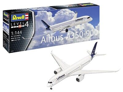 Revell 03881 - 1/144 Airbus A350-900 Lufthansa New Livery - New • 20.34£