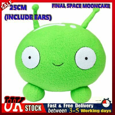 25cm Final Space Mooncake Plush Figure Toy Soft Stuffed Doll For Kids Xmas Gift • 8.88£