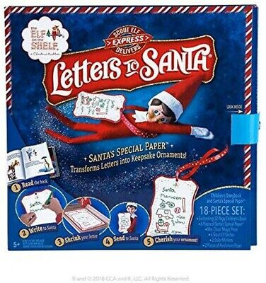 AU39.99 • Buy Elf On The Shelf - Letters To Santa - Scout Elf Accessories - Brand New