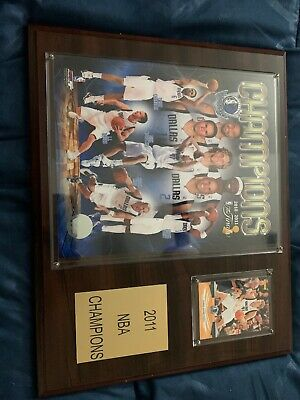 $350 • Buy Dallas Mavericks 2011 Championship Collectable With Dirk Nowitzki Card