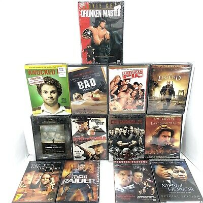 $ CDN29.87 • Buy Lot Of 13 DVDs - All Brand New, Factory Sealed - Mixed Genres