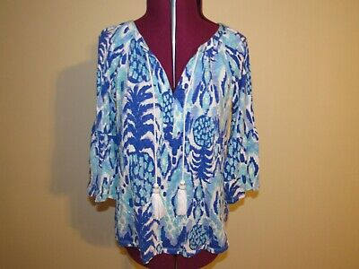 Lilly Pulitzer Del Lago Tunic Top Misses Size Small • 25.99$