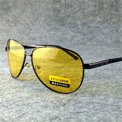 AU12.34 • Buy Men TAC Sun Glasses Female Male Night Vision Driving Glasses Goggles UV400
