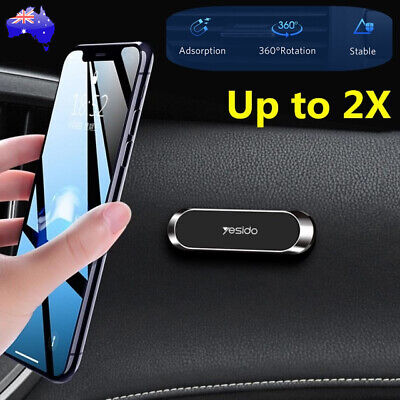 AU9.25 • Buy Universal Magnetic Mount Car Phone Holder Dash Car Stand For GPS IPhone Samsung