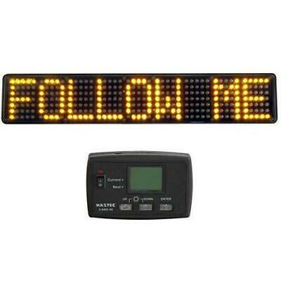 Haztec High Intensity LED 12v Matrix Message Board Recovery Emergency Vehicle • 299.99£