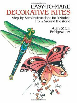 Easy To Make Decorative Kites: Step-by-step Instruction For 9 Models From Aro. • 2.60£