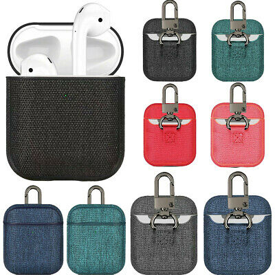 $ CDN6.56 • Buy Shockproof Cover Protection For Apple Airpods Canvas Case Headphone Accessories