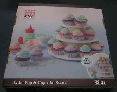 NEW In Box Sweet Creators Cake Pop & Cupcake Stand As Shown • 14.81£