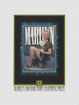 MARILYN MONROE Personal Used Worn CLOTHING PIECE Relic, Swatch, Portion, Owned • 8.95$
