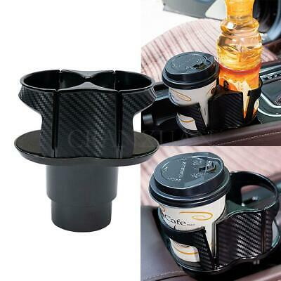 $ CDN8.18 • Buy Carbon Fiber Look Center Console Drink Cup Holder Box For Car Interior Parts New