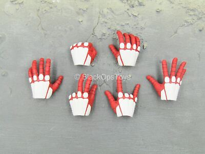 $ CDN31.07 • Buy 1/6 Scale Toy Spiderman - Advanced Suit - Red & White Gloved Hand Set (Type 2)