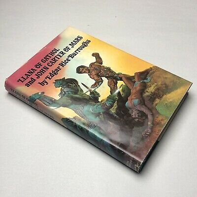Llana Of Gathol And John Carter Of Mars Edgar Rice Burroughs 1977 Book Club HBDJ • 9.99$
