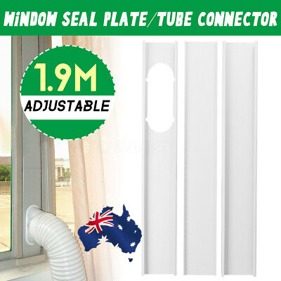 AU21.89 • Buy AUS 1.9M Window Plate Exhaust Hose Tube Connector For Portable Air Conditioner