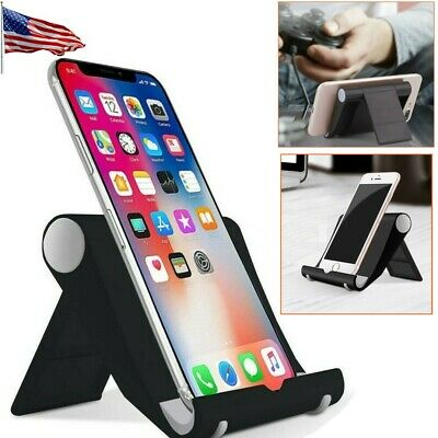 $6.57 • Buy Universal Desk Stand Holder Cradle For IPhone Samsung Cell Phone Tablet IPad
