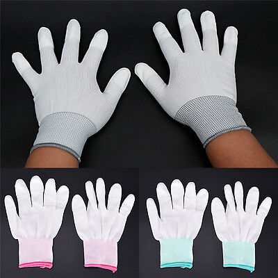 $1.12 • Buy Anti Static Antiskid Glove ESD Electronic Labor Worker Computer Phone Repair Bf