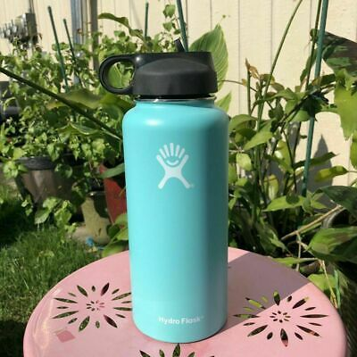 Hydro Flask_32OZ-Water Bottle Stainless Steel & Vacuum Insulated With Straw Lid • 33.97$