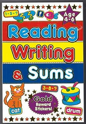 £3.67 • Buy Reading Writing And Sums Gold Reward Stickers Age 4 6-Brown Watson