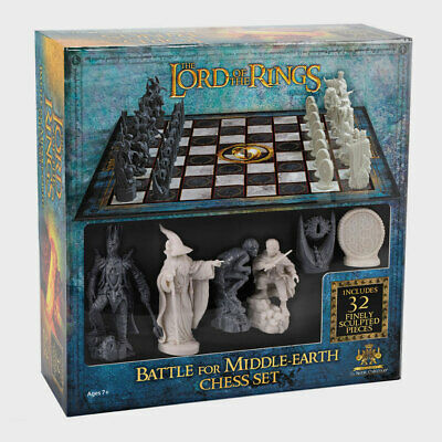 £44.99 • Buy Lord Of The Rings Chess Set Battle For Middle Earth By The Noble Collection