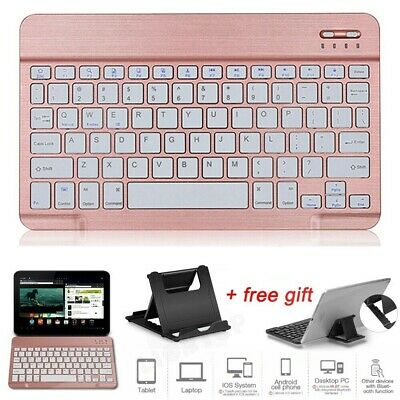 Wireless Bluetooth Keyboard For Samsung Galaxy Tab A A6 7~10.5  T590 T580 Tablet • 15.99£