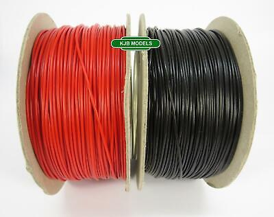 N OO DCC Model Railway Hook Up / Equipment Wire 16/0.2mm Cable -Choice Of Length • 2.99£