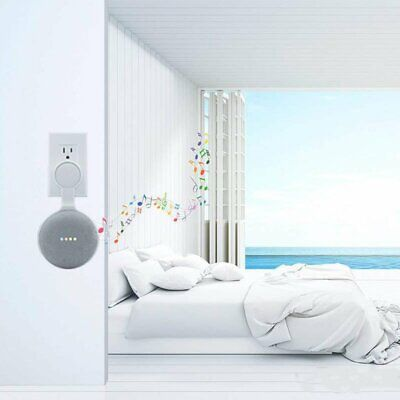 AU9.43 • Buy Wall Mount Holder For Google Home Mini With Cord Arrangement Hidden Wires SR