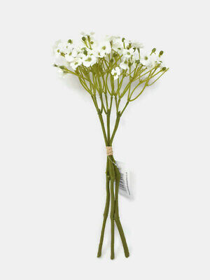 Artificial Forget-Me-Not Dainty Flower Bunch X 28cm - Ivory - Long Stemmed  • 4.38£