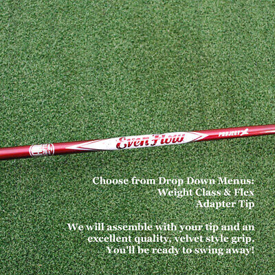 $119.95 • Buy Project X Hand-Crafted EvenFlow Red MAX CARRY Driver Shaft W/Tip & Grip - NEW