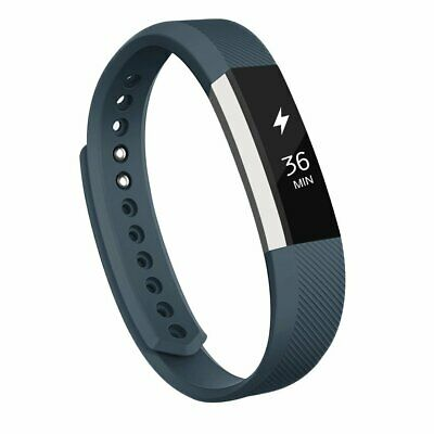 $ CDN9.47 • Buy AK Bands Replacement Fits Fitbit Alta / Alta HR Metal Clasp Slate Small S