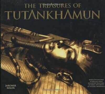 The Treasures Of Tutankhamun By Malek, Jaromir Hardback Book The Cheap Fast Free • 20.99£
