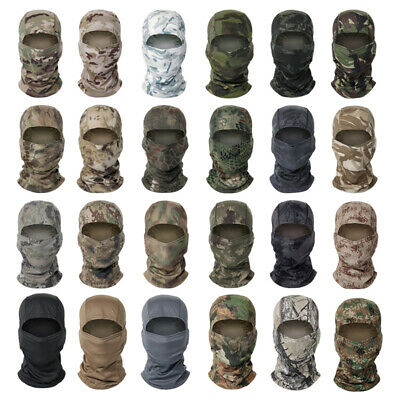 $8.99 • Buy Tactical Balaclava Face Mask Head Cover Wrap Scarf Army Military Airsoft Scarves