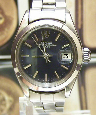 $ CDN2666.52 • Buy Lovely Swiss C1978 Vintage Rolex Lady Oyster Datejust Steel Cal 2030  6919 Works