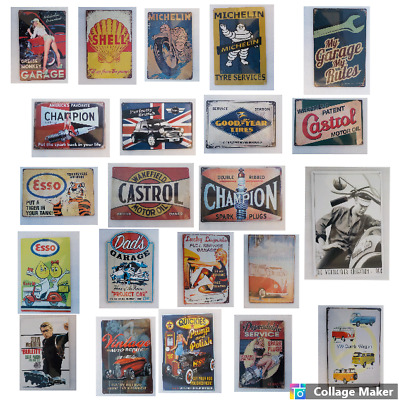 £4.40 • Buy Retro Metal Signs 300mmx200mm A4 SIZE