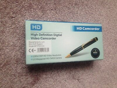 £44.99 • Buy HD Spy Pen With Pinhole Camera & Audio Surveille Camera Video Camcorder New