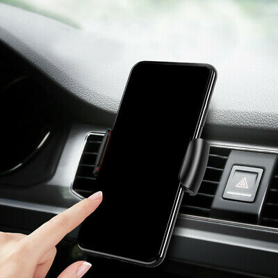 $2.91 • Buy Universal Gravity Clip Car Cell Phone Holder Air Vent Mount Stand Accessories