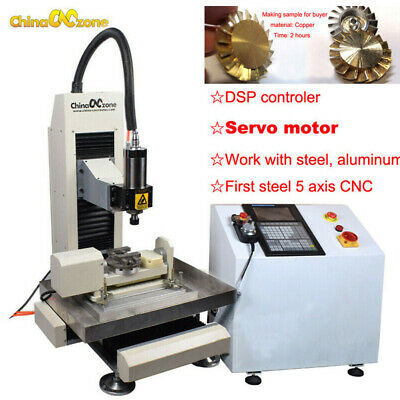$ CDN9375.16 • Buy Steel CNC 3040 5axis 2.2KW Machine Engraving Cutting Router For Steel Metal DIY