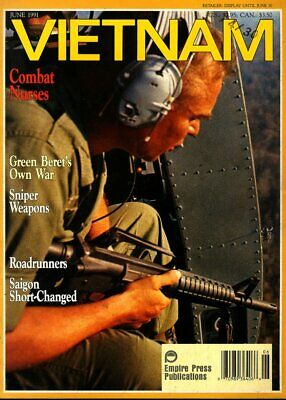 $13.56 • Buy VIETNAM JUN 91 US ARMY SNIPERS M-14 NOISE SUPPRESSION STARLITE / 173rd AIRBORNE