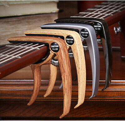 $ CDN10.08 • Buy Quick Change Grain Clamp Key Capo Spring For Acoustic Electric Guitar Bass